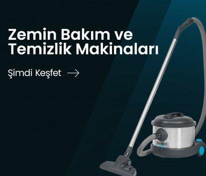 Zemin Bakım ve Temizlik Makineleri